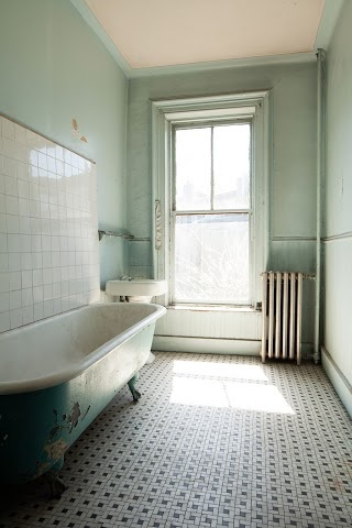 A Tub for Bathing in Jack Gilbert's lines.